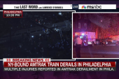 Eyewitness to train derailment speaks