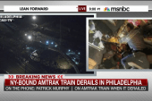 Deadly derailment leaves survivors dazed