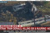 Survivor explains 'chaos' as train crashed