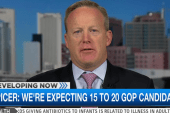 Sean Spicer calls large GOP field ...
