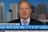 Sean Spicer calls large GOP field ...