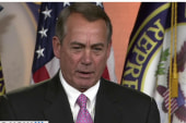 Boehner: No money has been cut from rail...