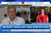 Jeb Bush: 'I would not have gone into Iraq.'