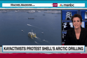 'Kayactivists' rally against Arctic drilling