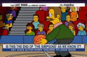 The end of 'The Simpsons' as we know it?