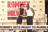 Romney gets ready for Friday rumble