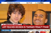 Jury reaches decision on Tsarnaev penalty