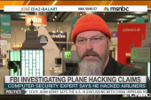 FBI investigating plane hacking claims