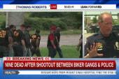 Nine dead after biker gang battle in Waco, TX