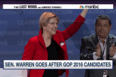 After fiery speech, is Sen. Warren running?