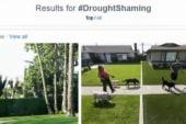 'Drought shaming' targets CA water wasters
