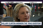 Hillary Clinton answers the Iraq question