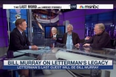 Bill Murray on being Letterman's last guest