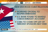 Cuba set to come off terrorist list by June