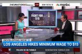 LA to raise minimum wage to $15 by 2020