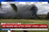 2nd Marine dies after crash landing