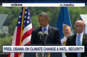 Obama on climate change and military
