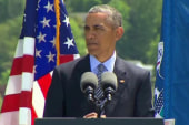Obama: Climate change hurts national security