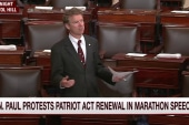 Rand Paul wraps up Patriot Act protest