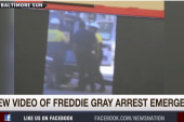 New video of Freddie Gray arrest emerges