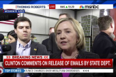 Clinton: Email info 'handled appropriately'