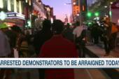 Arrests made in Cleveland protests