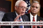 Bernie Sanders to launch WH bid Tuesday
