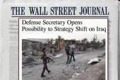 A new WH strategy in fight against ISIS?