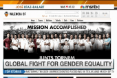 Soccer club joins UN HeForShe campaign