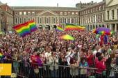 Ireland celebrates historical gay marriage...