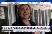 Release dates for Clinton emails revealed