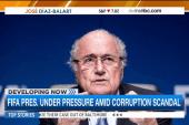 Sepp Blatter faces pressure amid FIFA scandal