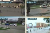 Dozens of drivers rescued from Texas floods