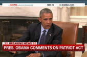 President Obama discusses Patriot Act debate
