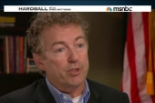 Sen. Rand Paul plays Hardball