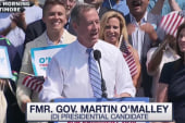 Martin O'Malley makes it official