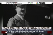 Did Nazi war criminals collect millions in...