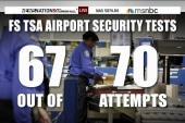 TSA failed 95% of airport breach tests