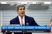 Secy. John Kerry undergoes leg surgery