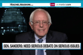 Sanders pitches issues-focused debate changes