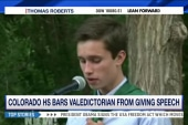 HS valedictorian banned from giving speech