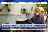 Family, friends mourn woman killed by lion
