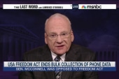 Richard Clarke reacts to Patriot Act reforms