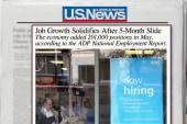 Good news on job growth