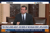 Cruz regrets ill-timed Biden joke