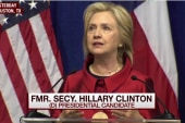 Clinton: GOP 'crusade against voting rights'