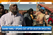 Usaamah Rahim's family speaks out allegations