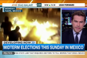 Violent protests ahead of Mexico's elections