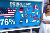 US wealth gap keeps growing wider