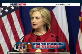Clinton confronts GOP on voting rights